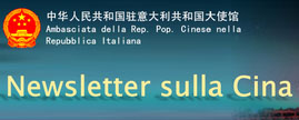 Newsletter sulla Cina