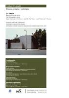 ABITARE i LUOGHI. Fenomenologia e ontologia