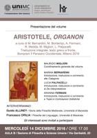ARISTOTELE, Presentazione dell'ORGANON