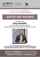 BOJANIĆ, Justice and Violence