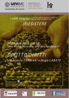"""""""CAFFE' filosofici"""": Diritto/Diritti"""