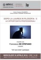 Francesco De Sefano / LOCCIONI: opportunità professionali / 5