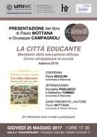 La città EDUCANTE. Manifesto della educazione diffusa