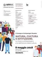 Natura, cultura, istituzioni