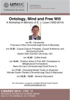 Ontology, Mind and Free Will