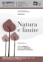 SEMINARIO su Natura e interpretazione