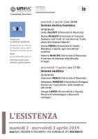Seminario / L'ESISTENZA