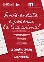 Italo SPINELLI, Dov'è andata a posarsi la tua ANIMA?