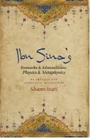 Shams INATI, Ibn Sina's Remarks and Admonitions: Physics & Metaphysics