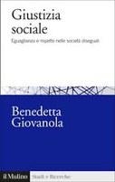 Benedetta GIOVANOLA, Giustizia sociale
