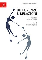 Donatella PAGLIACCI (ed.), Differenze e relazioni. II: Cura dei legami