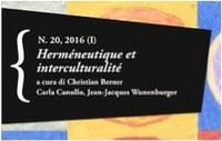 Herméneutique et interculturalité