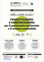 PROGETTAZIONE e COMUNICAZIONE per il patrimonio territoriale e il turismo sostenibile