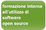 formazione interna all'utilizzo di software open source