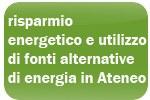 risparmio energetico e utilizzo di fonti alternative