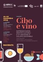 CONVEGNO INTERNAZIONALE | Cibo e vino