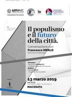 Il populismo e il futuro della città
