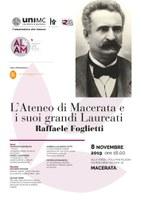 L'Ateneo di Macerata e i suoi grandi Laureati   RAFFAELE FOGLIETTI