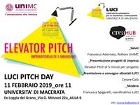 LUCI PITCH DAY | Imprenditorialità e Umanesimo