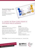 Il lavoro in team come chiave di successo nelle aziende