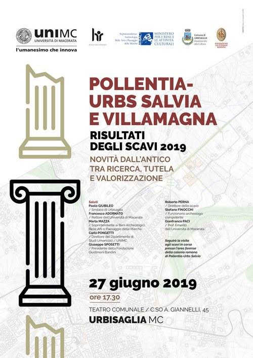 Pollentia - Urbs Salvia - Villa Magna | RISULTATI DEGLI SCAVI 2019