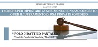 PROFESSIONI LEGALI | Seminari teorico - pratici