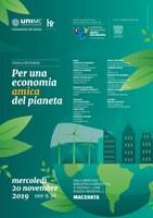 TAVOLA ROTONDA | Per una economia amica del pianeta