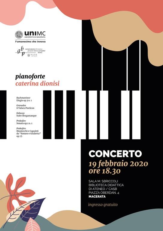 I CONCERTI AL CASB | Pianoforte