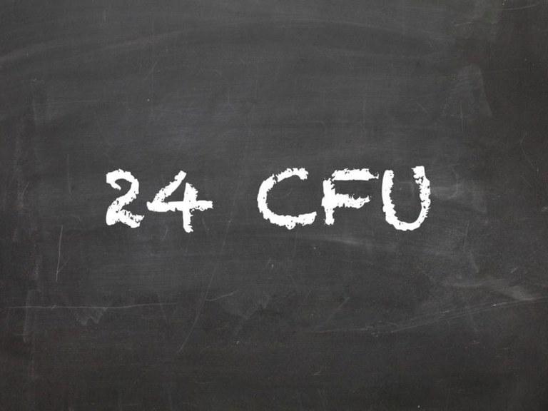 24 CFU | Riconoscimento attività pregresse