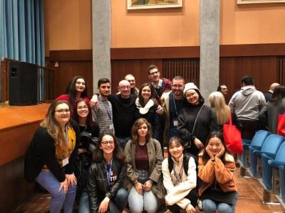 Il coro UniMC al simposio internazionale