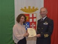 Laureata UniMC vince il premio per tesi della Marina Militare