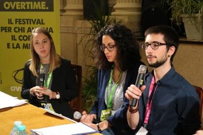 Luana Moresco, la fidanzata di Antonio Megalizzi, intervistata dagli studenti di Radio Rum Giulia Mencarelli e Nicola Maraviglia