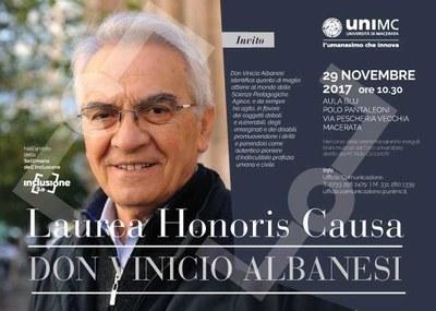 laurea hc don vinicio albanesi