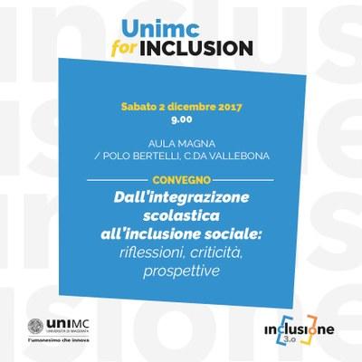 Dall'integrazione scolasticaall'inclusione sociale:
