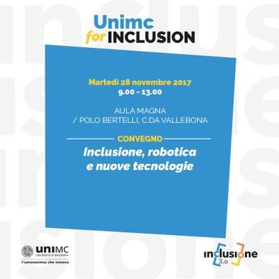 Inclusione, robotica